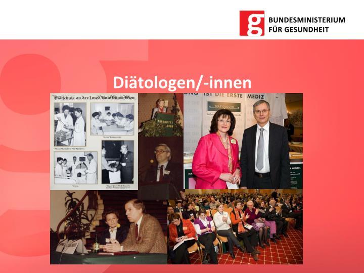 Diätologen/-innen