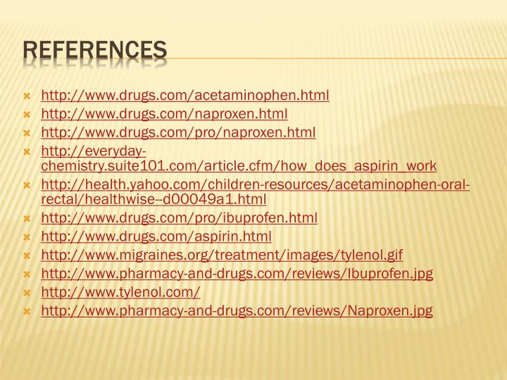 http://www.drugs.com/acetaminophen.html
