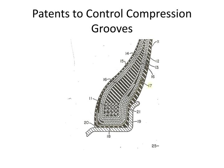 Patents to Control Compression Grooves