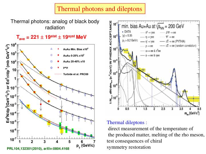 Thermal photons and