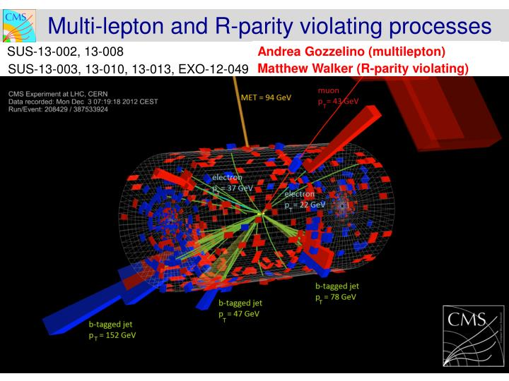 Multi-lepton and R-parity violating processes