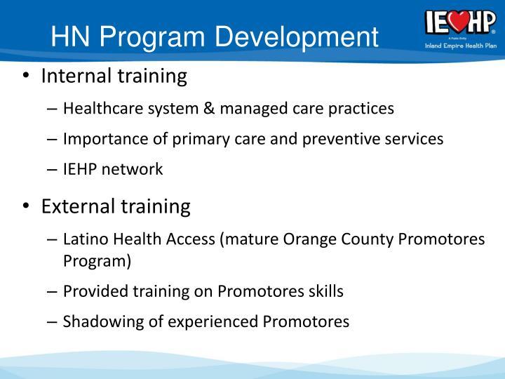 HN Program Development