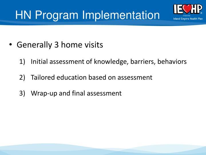 HN Program Implementation