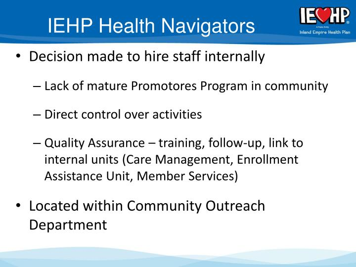 IEHP Health Navigators