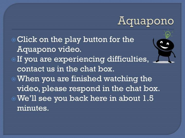 Aquapono