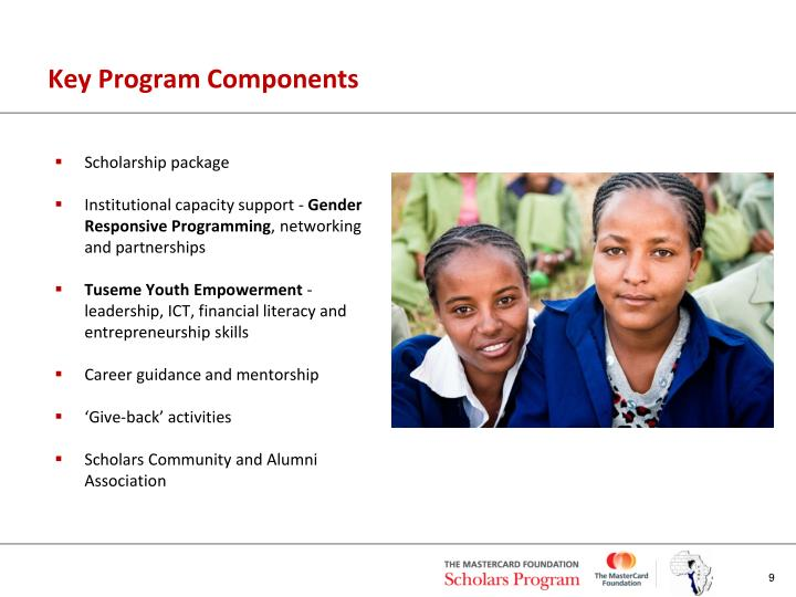 Key Program Components