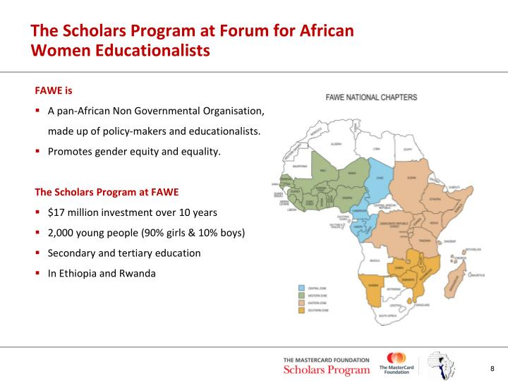 The Scholars Program at Forum for African Women Educationalists