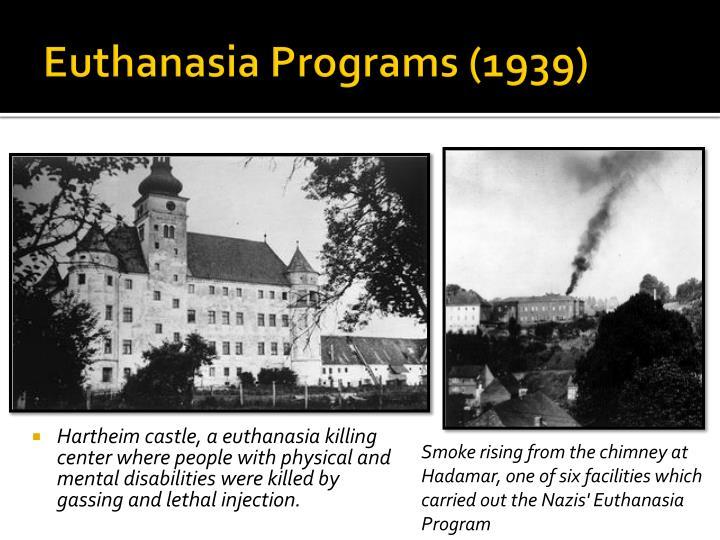 Euthanasia Programs (1939)