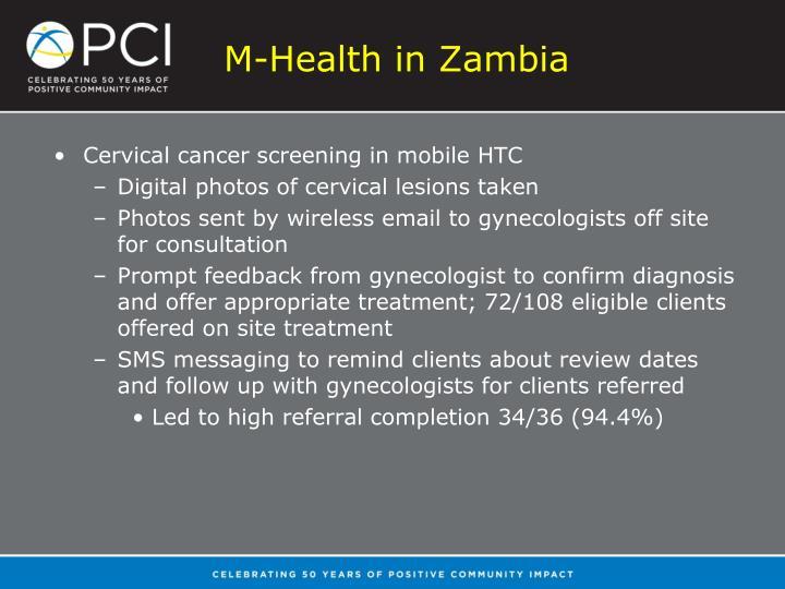 M-Health in Zambia