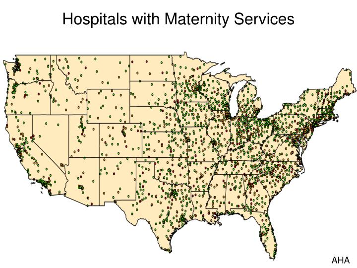 Hospitals with Maternity Services