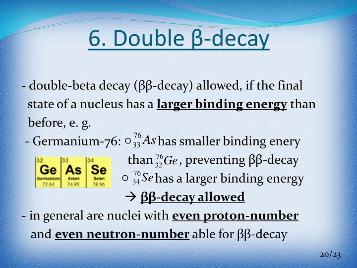 6. Double