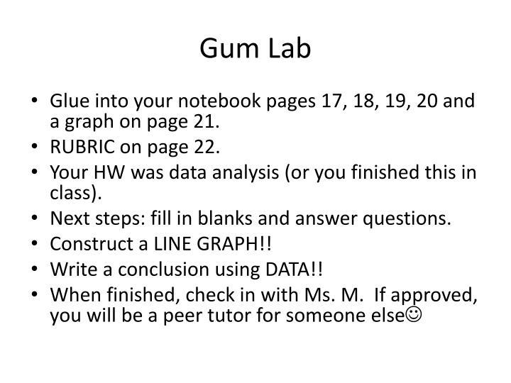 Gum Lab