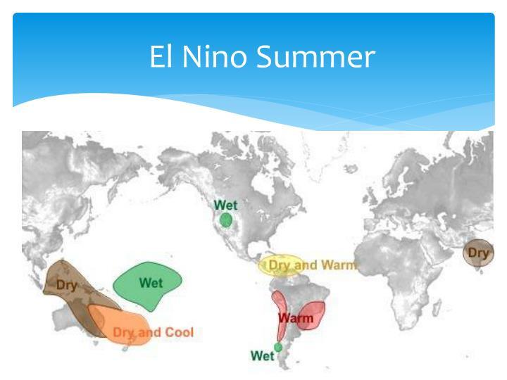 El Nino Summer