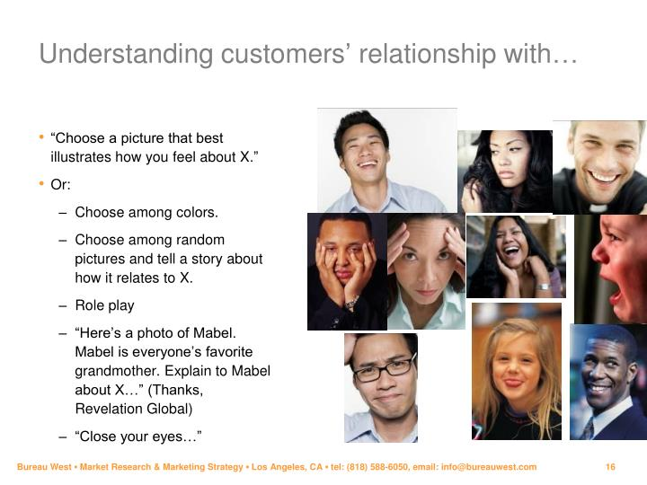 Understanding customers' relationship with…