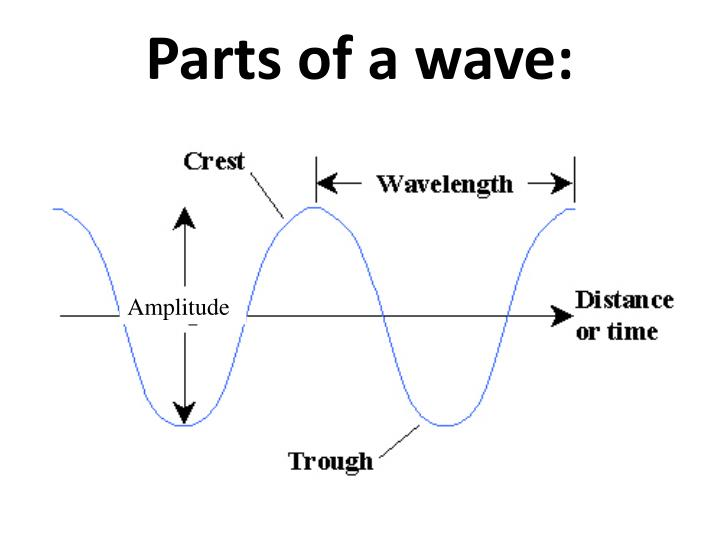 Parts of a wave: