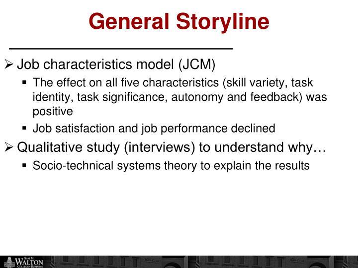 General Storyline