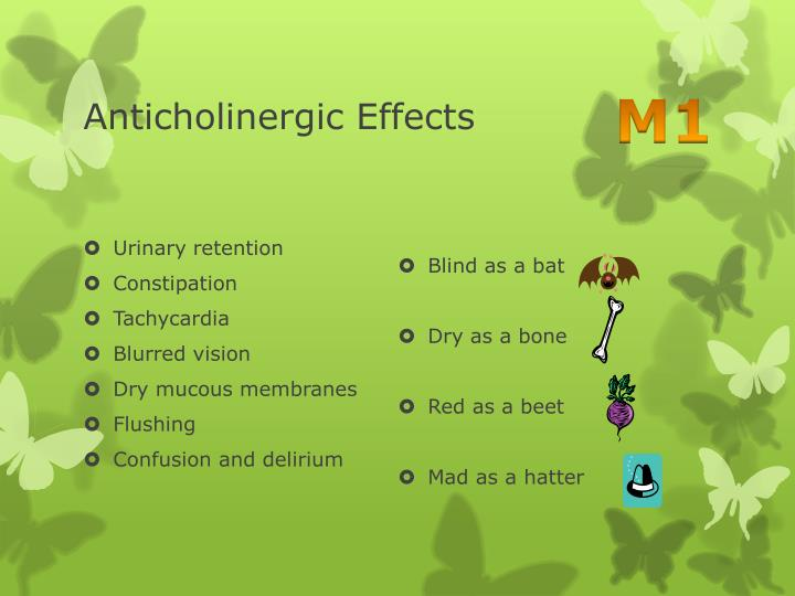 Anticholinergic Effects