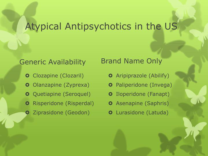Atypical Antipsychotics in the US