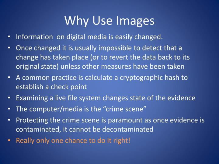 Why Use Images