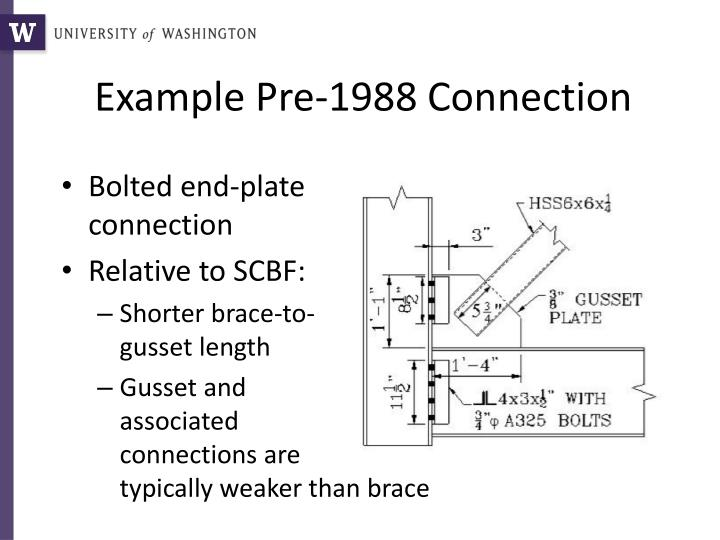 Example Pre-1988 Connection