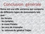 conclusion g n rale