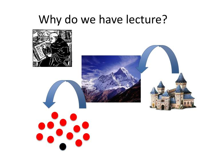 Why do we have lecture1