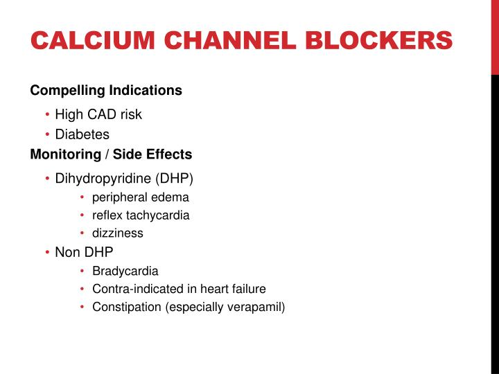 Calcium channel blockers