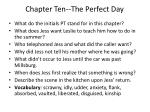 chapter ten the perfect day