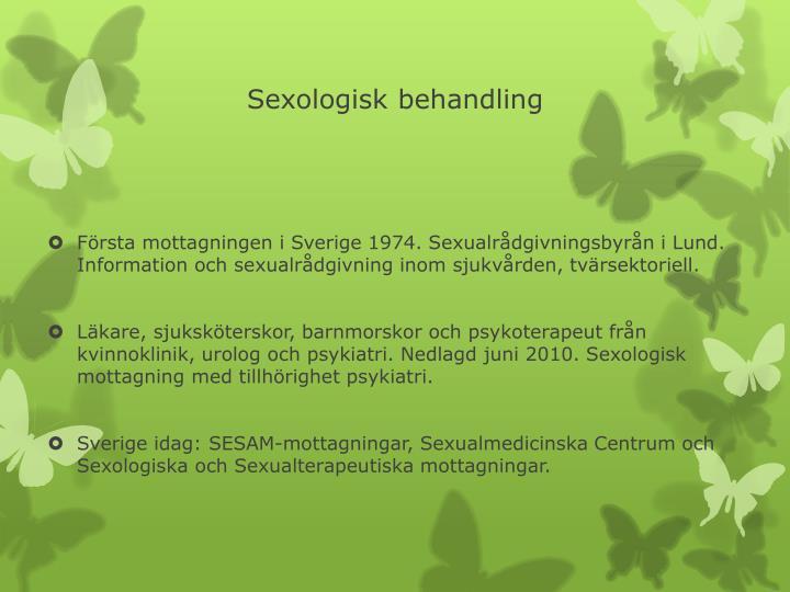 Sexologisk behandling