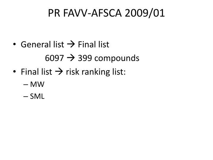 PR FAVV-AFSCA