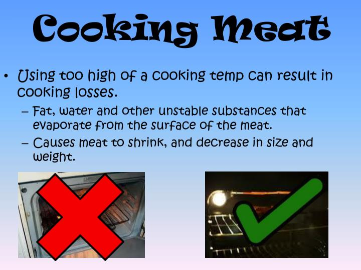 Cooking Meat
