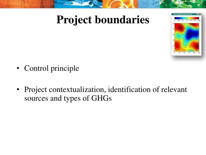 Project boundaries