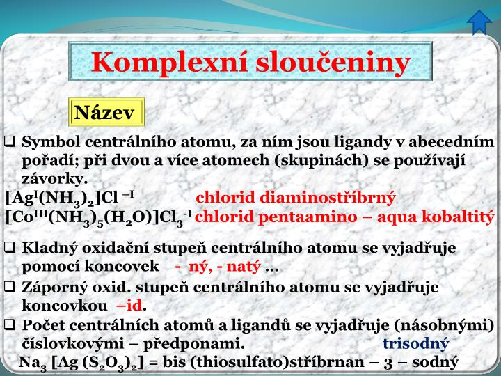 Komplexní sloučeniny