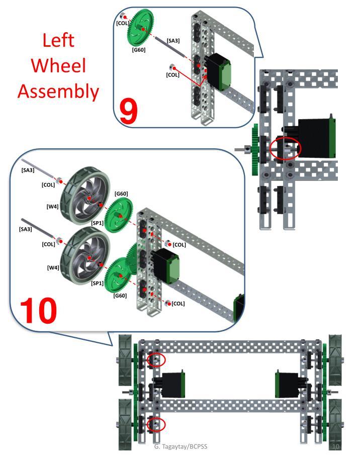 Left Wheel