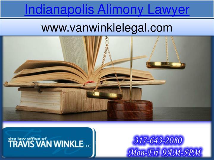 Indianapolis Alimony
