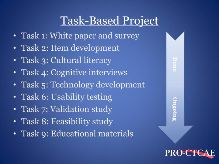 Task-Based Project