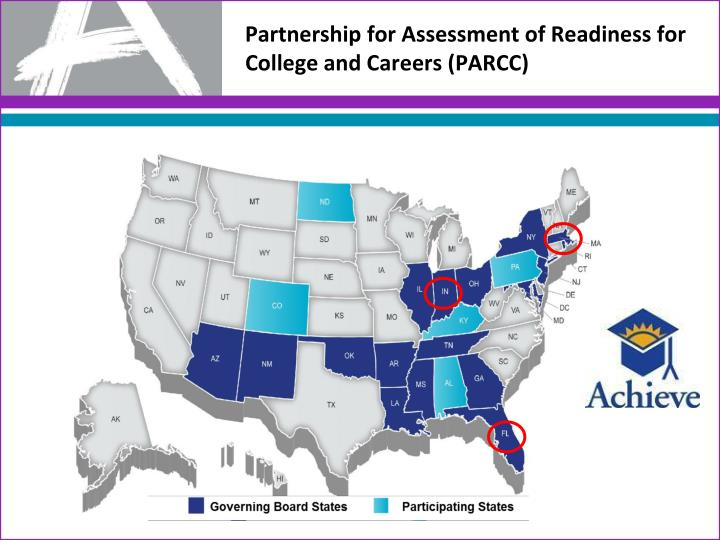 Partnership for Assessment of Readiness for College and Careers (PARCC)