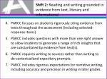 shift 2 reading and writing grounded in evidence from text literary and informational