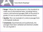 texts worth reading3