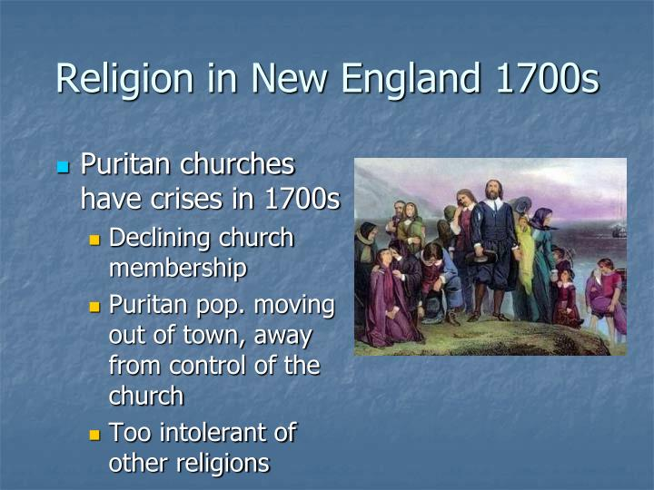 religious toleration in new england colonies prior to 1700s The middle colonies remained more tolerant of nonconformity than new england and the south pennsylvania grew rapidly german farmers, mostly from the rhine region, settled in the countryside of pennsylvania, establishing prosperous farms and the industries of weaving, shoemaking, and cabinetmaking.