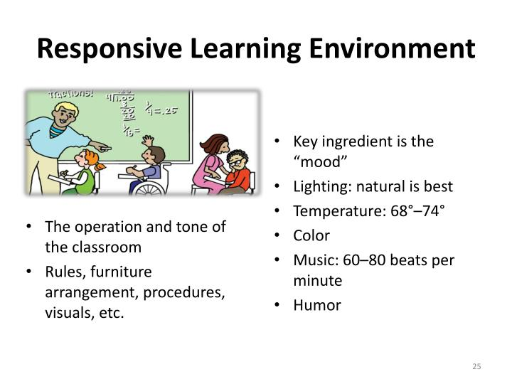 Responsive Learning Environment