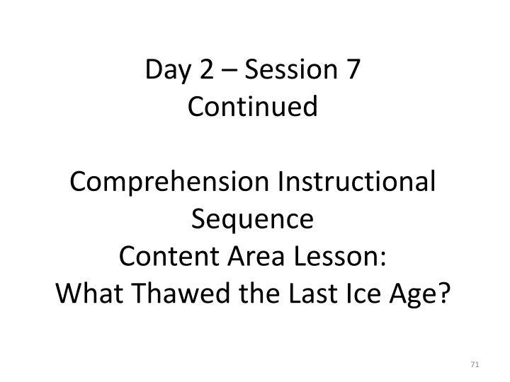 Day 2 – Session 7
