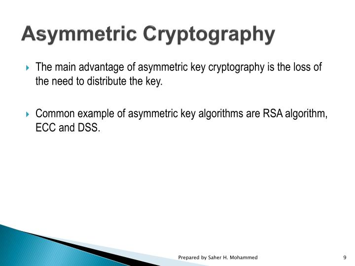 Asymmetric Cryptography
