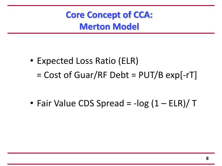 Core Concept of CCA: