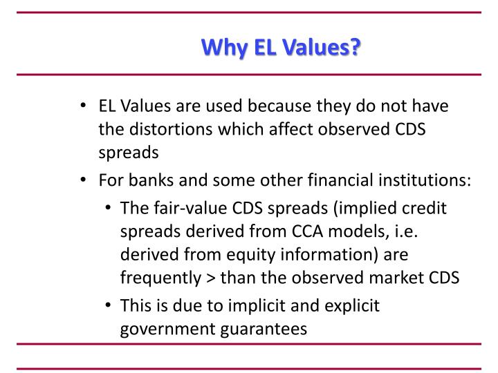 Why EL Values?