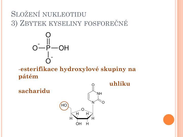 Složení nukleotidu