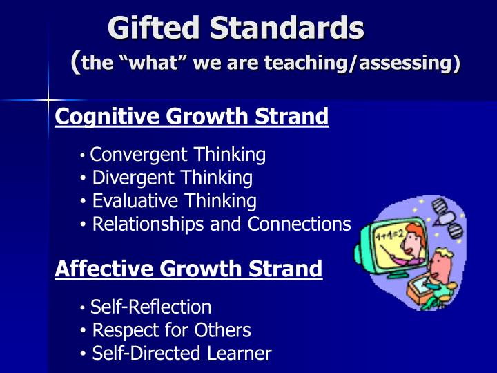 Gifted Standards