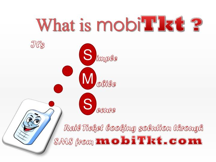 What is mobi tkt