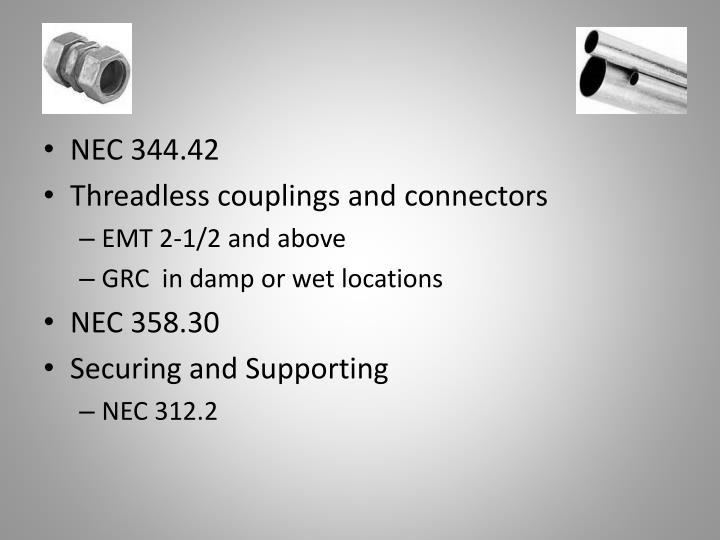 NEC 344.42