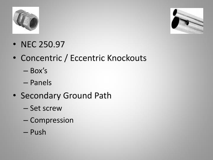 NEC 250.97